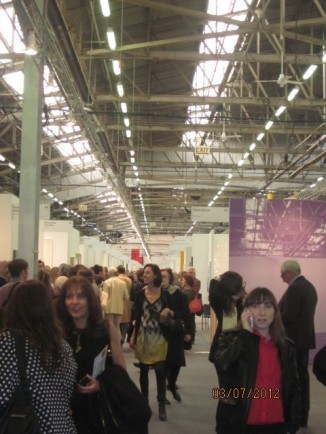 2012 Armory Show was jammed